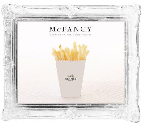 McFancy, la comida rápida está de moda