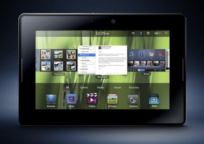 BlackBerry PlayBook soportará aplicaciones Android