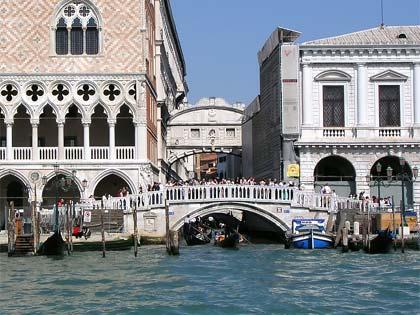 Ponte dei Sospiri, Venecia