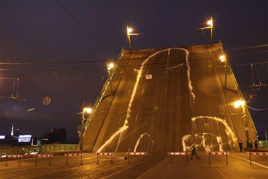 El Pene Cósmico de San Petesburgo, grupo Voyná (2010)