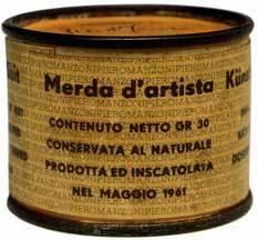 "Piero Manzoni, ""Merda d'artista"""