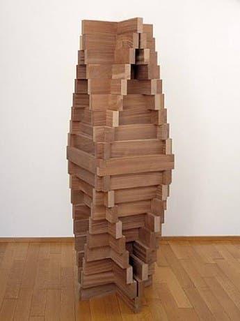 """""""Pirámide convexa"""", Carl Andre"""