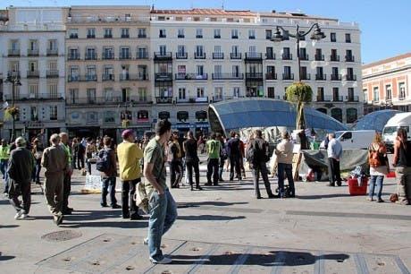 Lo que paso anoche en la Puerta del Sol, dudas sobre su legalidad