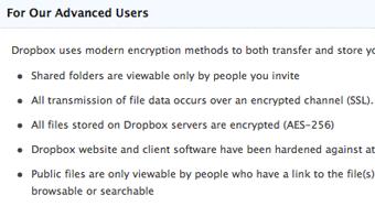Al parecer Dropbox no es tan seguro como prometía