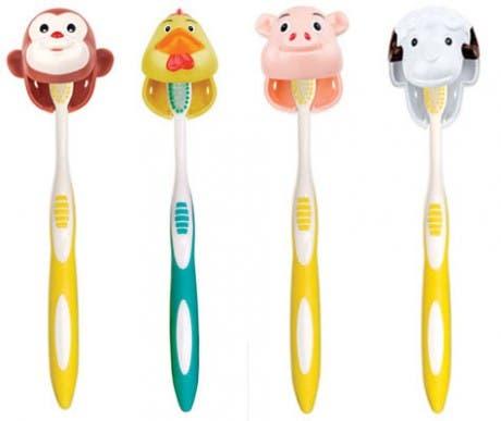 Una granja para tu cepillo de dientes