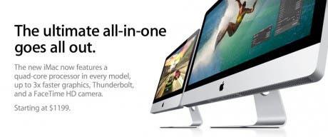 Apple renueva la gama iMac