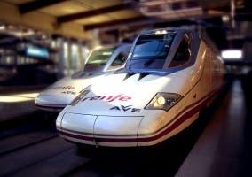 Tren de alta velocidad AVE S-102 Talgo de Renfe