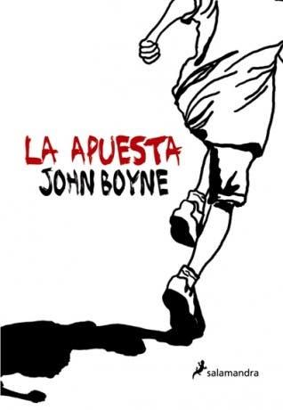 La apuesta de John Boyne, portada del libro