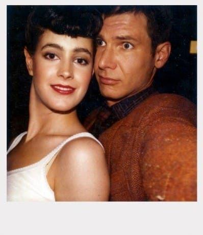 Sean Young y Harrison Ford en Blade Runner