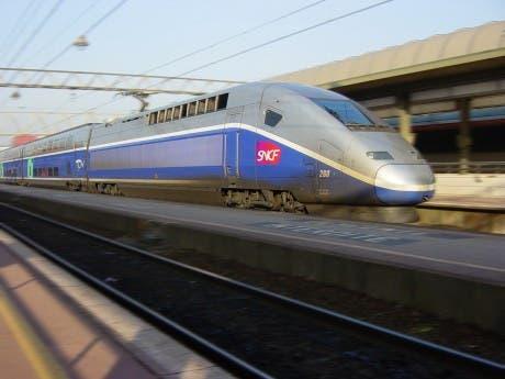 TFV de la SNCF en Lyon (Francia)