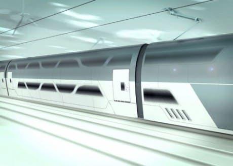 Exterior del concepto de tren de alta velocidad australiano A-HSV