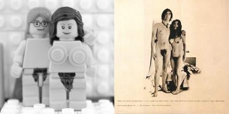 Brick the LP: el divertido proyecto de carátulas de discos de música hechas con LEGO