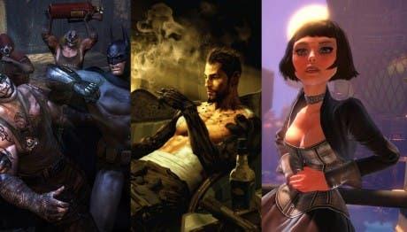 Vídeos con gameplay de tres grandes juegos
