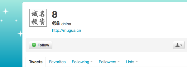 Los nombres de usuario mas cortos en Twitter