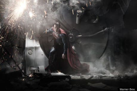 Primera imagen de Henry Cavill en nueva película de Superman