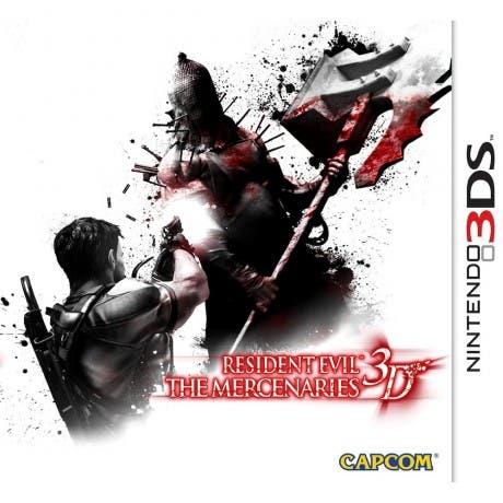 Resident Evil the Mercenaries 3D Portada