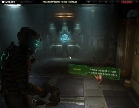 Captura Dead Space 2 en Gaikai