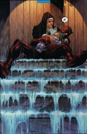 Ilustración interior de Daredevil Diablo Guardián