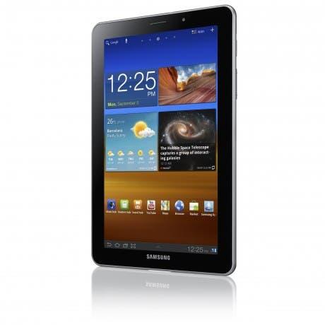 Samsung Galaxy Tab 7.7 - Vertical