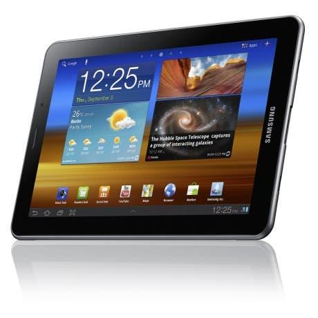 Samsung Galaxy Tab 7.7 - Horizontal