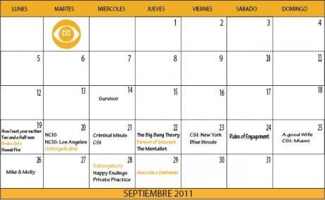 Calendario de series que regresan y se estrenan en septiembre (ABC y CBS)