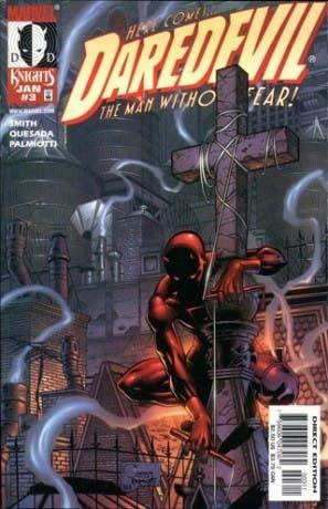 Portada del #3 USA de Daredevil Guardian Devil
