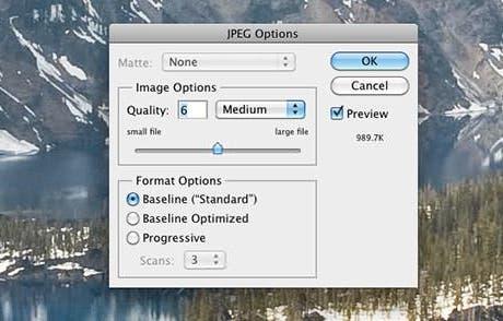 ¿Cómo puede una mayor calidad en JPEG tener más pérdidas?