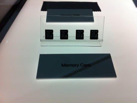 Tarjetas de memoria de PS Vita
