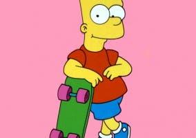 Bart Simpson, de la serie Los Simpsons