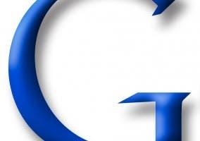 Detalle del logo de Google