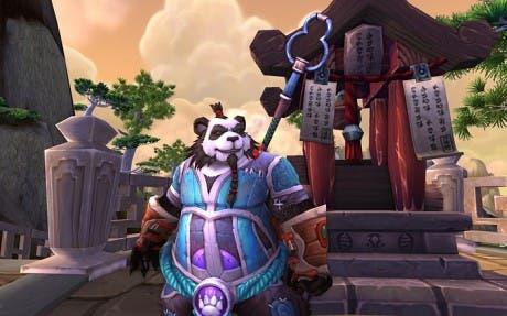 Captura de pantalla de WoW: Mists of Pandaria