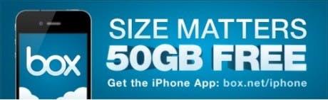 Obtén una cuenta de 50GB gratis de por vida en Box.net si eres usuario de iOS