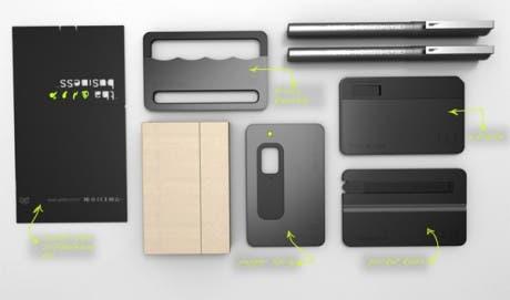 Tha Business: Kit de defensa personal camuflado como tarjetas