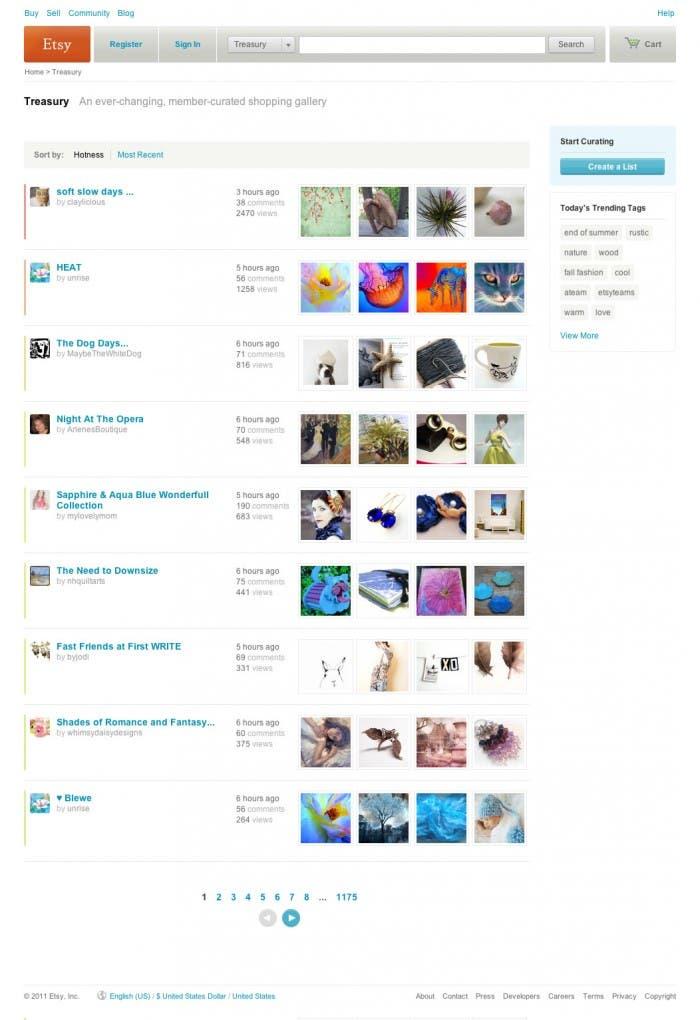 Etsy, vende tus obras por todo el Mundo