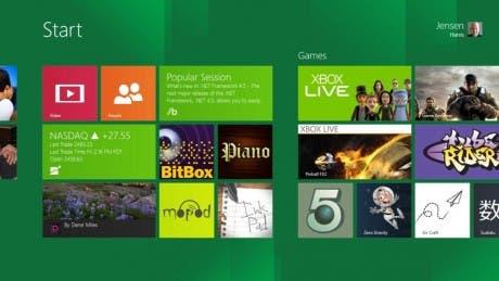 Captura de Windows 8