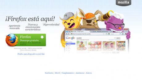 Firefox 8 ya esta disponible