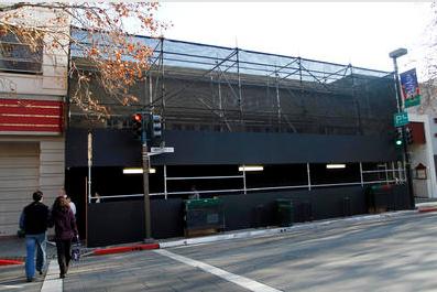 Apple Store en construcción