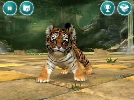 Captura de Kinectimals para iOS