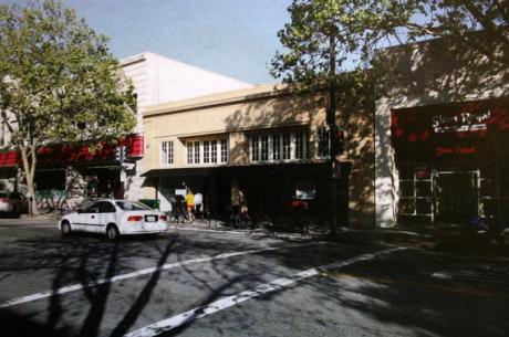 Lugar de construcción de la nueva Store de Apple