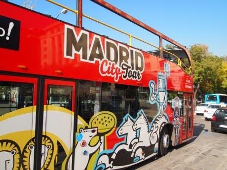 autobuses turísticos de madrid con wi-fi gratis