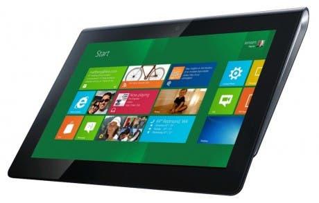 Sony Tablet S con Windows 8