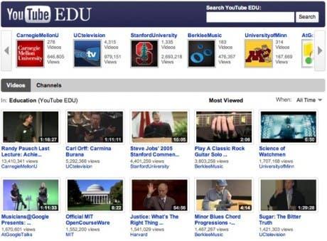 Youtube lanza un servicio para los centros educativos