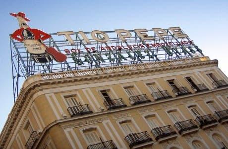 Fotografía del edificio madrileño de Tío Pepe
