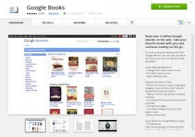 Google eBooks offline en Google Chrome
