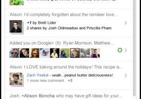 Nuevas notificaciones en Google+