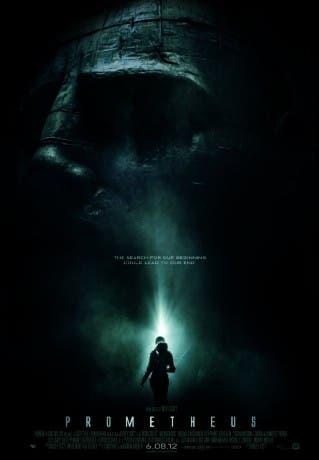 Cartel promocional de Prometheus