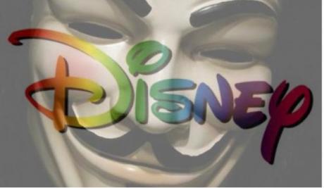 Anonymous ataca a Disney