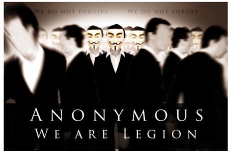 Activistas de Anonymous