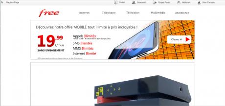 """Free ofrecerá iPhone y tarifas """"sociales"""" para los franceses"""