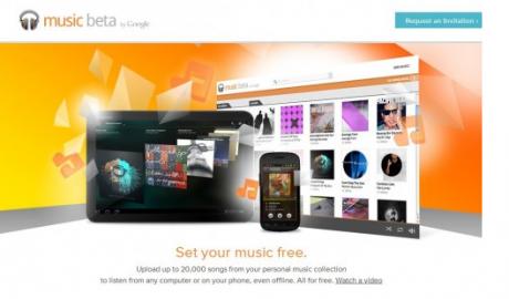 Web de Google Music